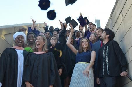 A photo of 2015 graduates