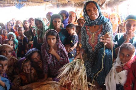 Women and girls in Pakistan