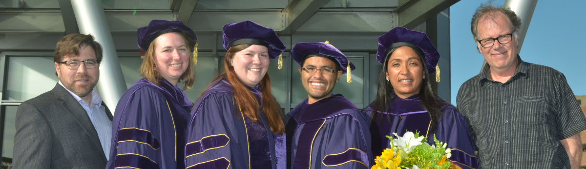 Pathobiology graduates and mentors